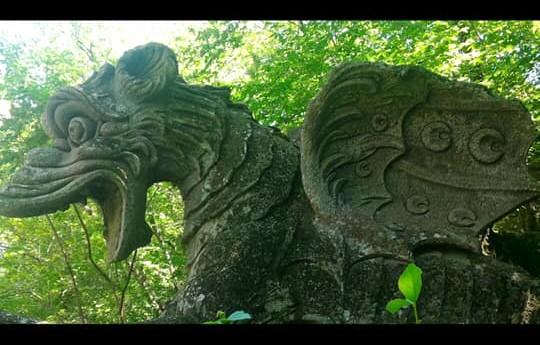 Drago da giardino scettica Drago personaggio Gargoyle
