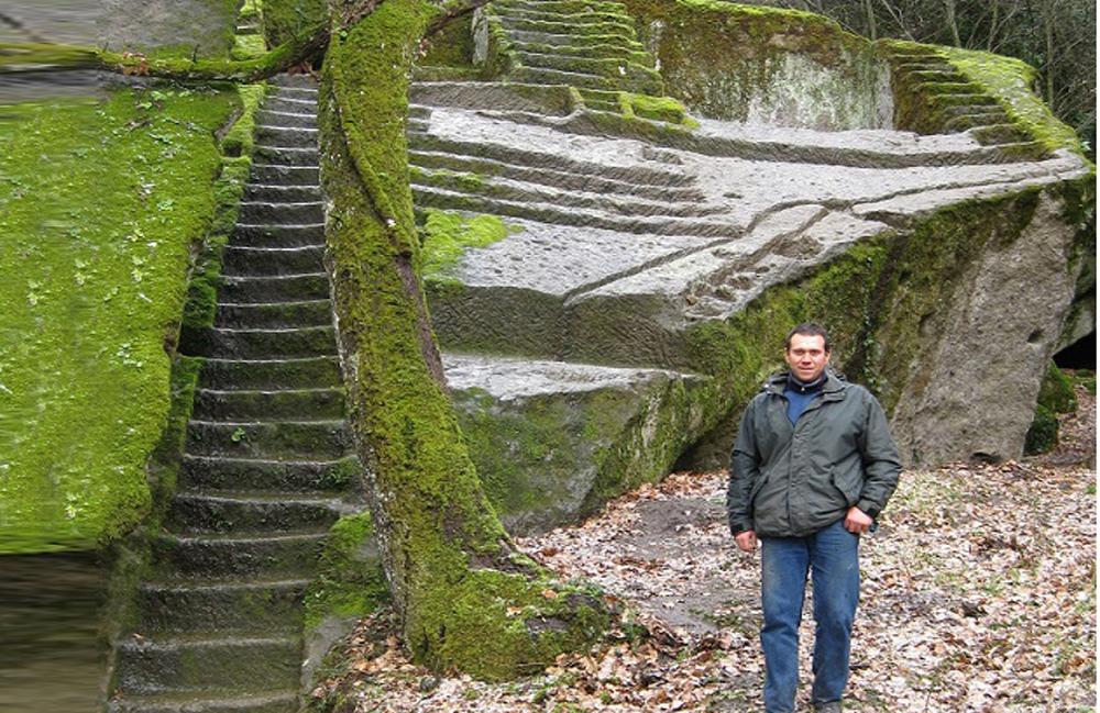 Salvatore Fosci: la piramide di Bomarzo la scoperta della mia vita