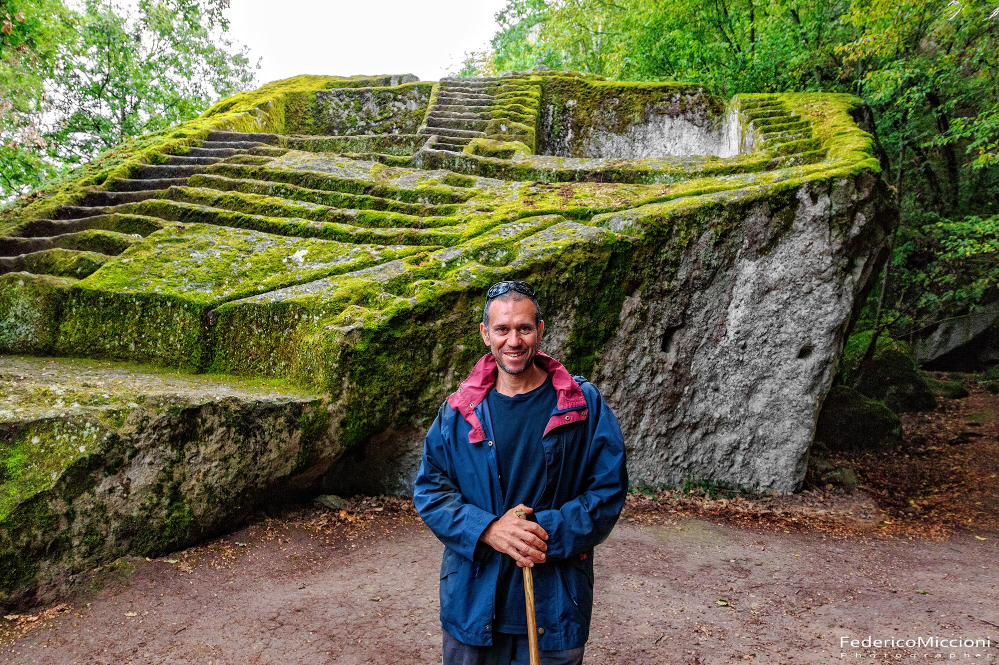 The strange story of the Etruscan Pyramid of Bomarzo